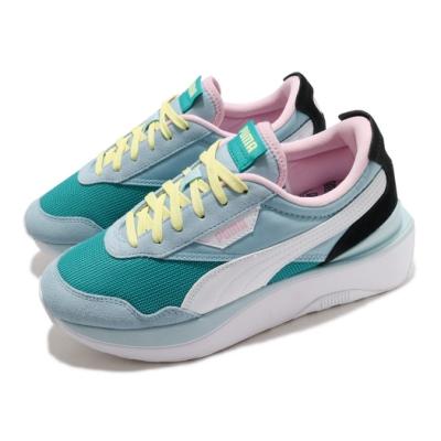 Puma 休閒鞋 Cruise Rider 運動 女鞋 基本款 舒適 簡約 厚底 穿搭 球鞋 藍 綠 37507202
