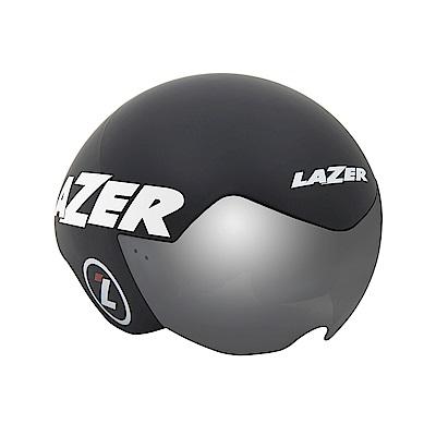【LAZER】VICTOR 三鐵/計時安全帽 消光黑