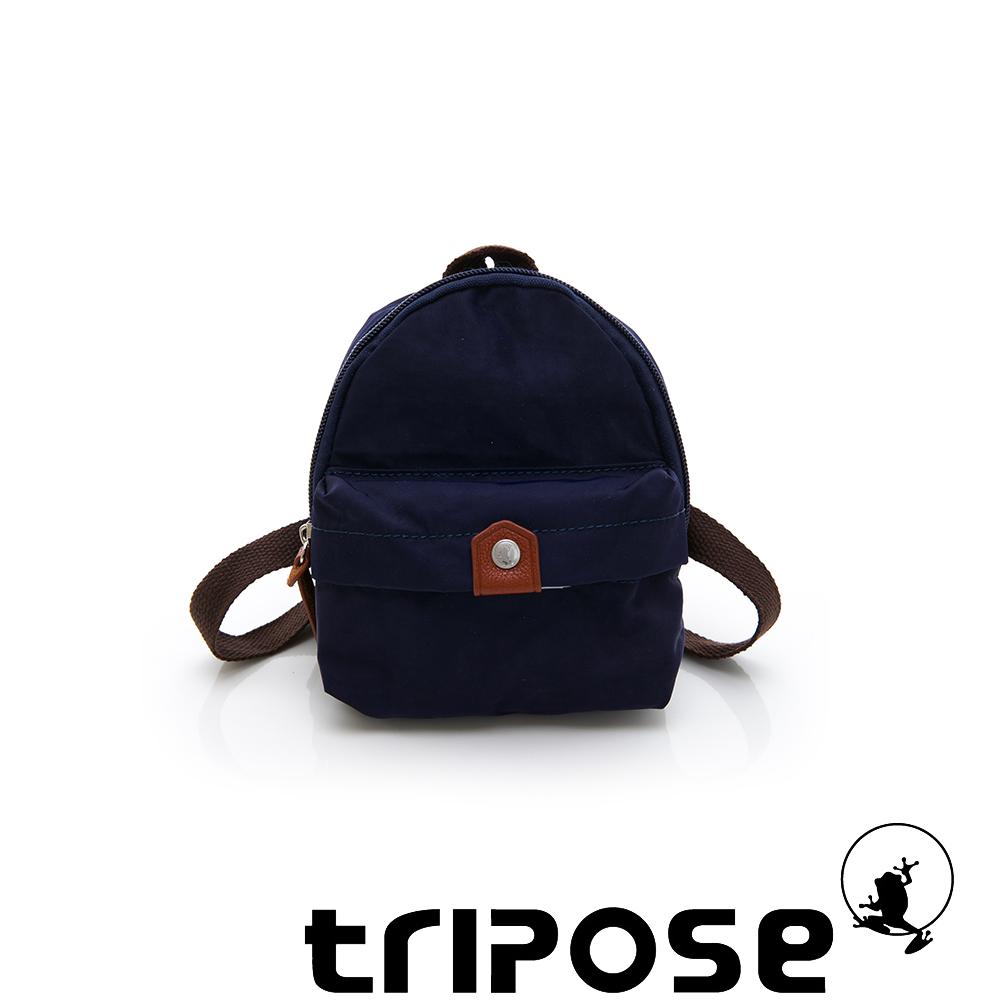 tripose MEMENTO系列尼龍輕量防潑水寵物背包-深藍
