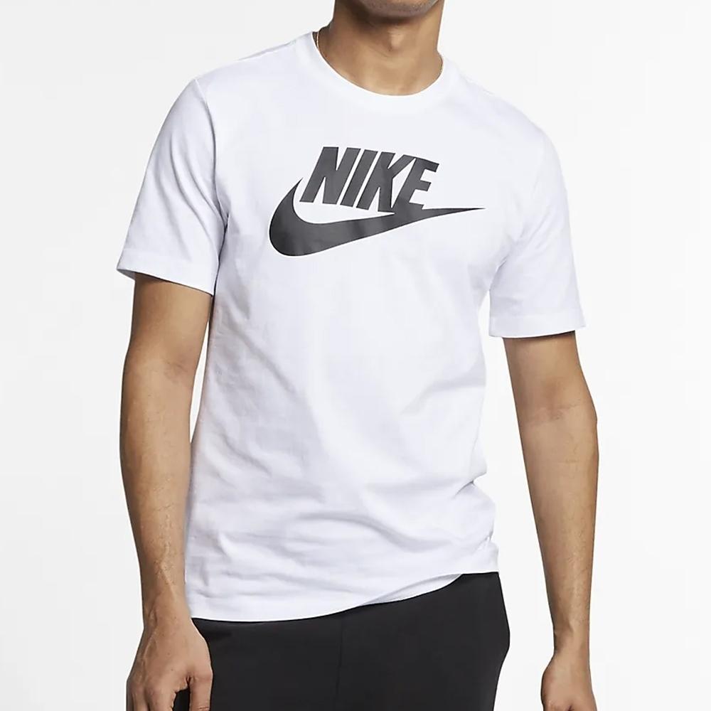 NIKE NSW TEE ICON FUTURA 男 短袖上衣-白-AR5005101