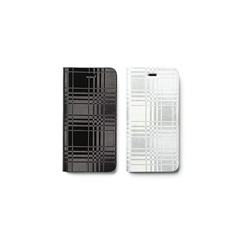 ZENUS AVOC Apple iPhone6/6s 4.7吋 金屬格紋 書本皮套