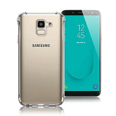 Xmart Samsung Galaxy J6 清透高質感TPU+PC手機保護殼