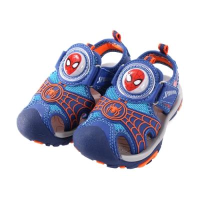 蜘蛛人護趾防撞閃燈運動涼鞋 sa99166 魔法Baby