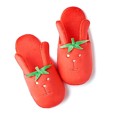 CRAFTHOLIC 宇宙人 番茄兔室內拖鞋
