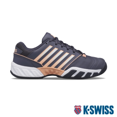 K-SWISS Bigshot Light 4輕量進階網球鞋-女-深紫/橘
