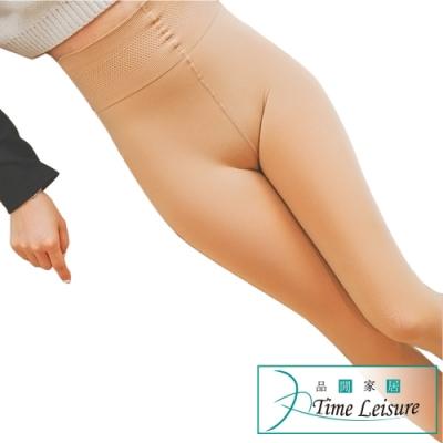 Time Leisure 防油污潑水超細纖維400丹秋冬保暖修身褲襪 自然膚