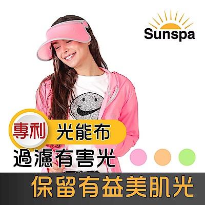 Sunspa 真 專利光能布 UPF50+ 濾光 連帽外套+遮陽帽 2件組