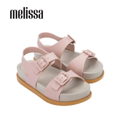 Melissa WIDE 寬帶琥珀涼鞋-粉