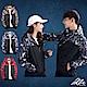 【Incare】情侶款-迷彩雙色連帽防風外套(3色可選)