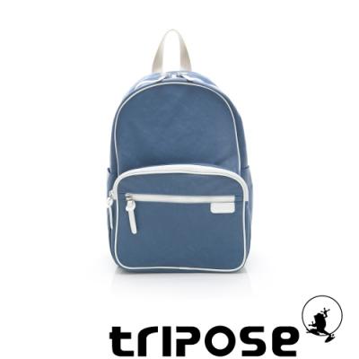 tripose PIPE系列滾邊後背包 天藍