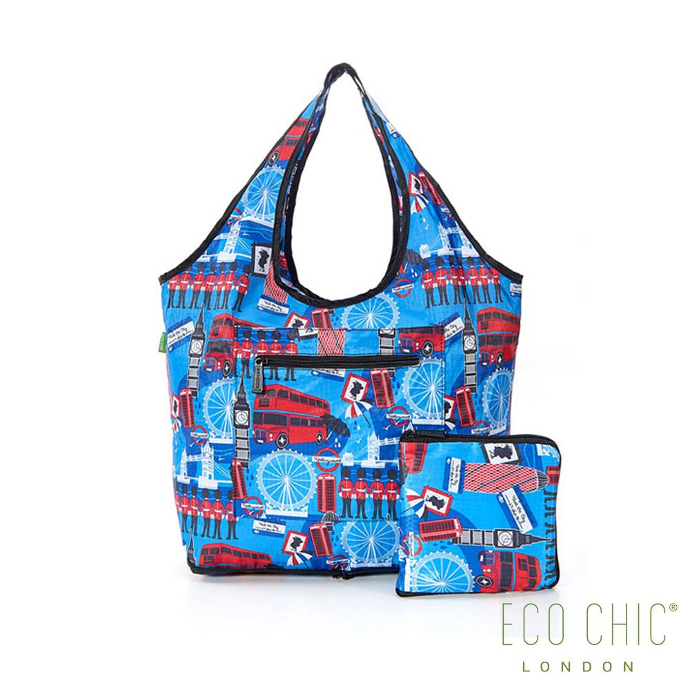 英國ECO CHIC旅行用休閒袋-英倫