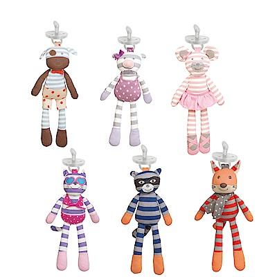 美國 Apple Park 有機棉奶嘴安撫玩偶 - 共6款