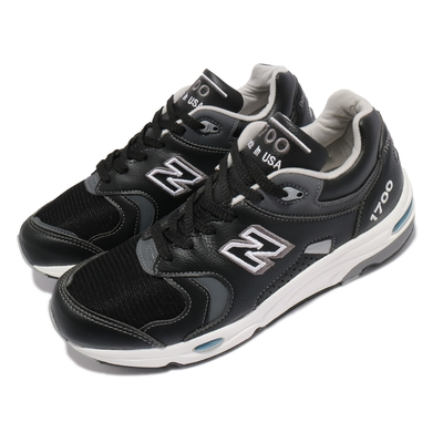 New Balance 休閒鞋 1700 復古 美製 男鞋 紐巴倫 N字鞋 麂皮 百搭 穿搭爆款 黑 白 M1700BKJD