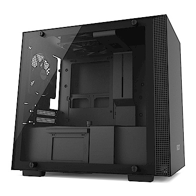 NZXT【H200】玻璃透側 ITX電腦機殼《黑》