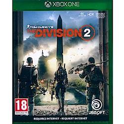 湯姆克蘭西:全境封鎖 2 The Division 2-XBOX ONE中英文亞版(歐版)