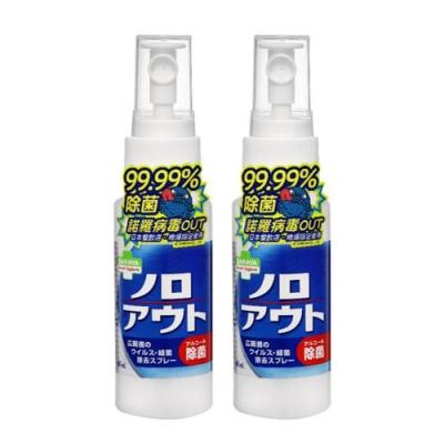 【日本 SARAYA】Smart Hygiene 神隊友 除菌噴霧 60ml (2入組)