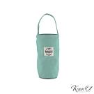 Kiiwi O! 輕便隨行系列帆布飲料袋 IRIS 粉嫩薄荷綠