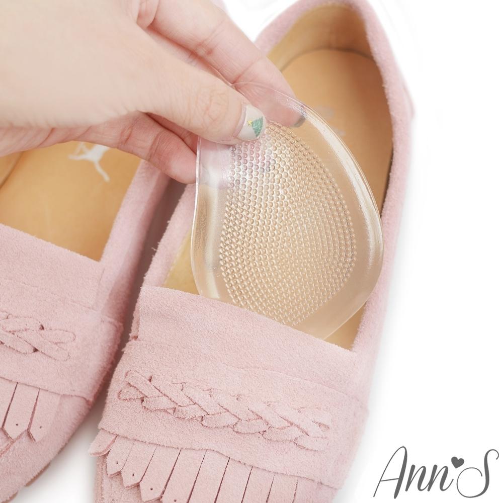 Ann'S軟Q矽膠透明半墊-鞋子大半號專用