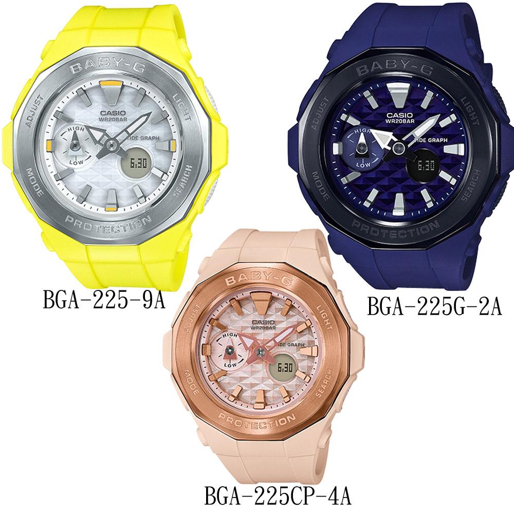 BABY-G 海灘露營潮汐顯示錶(BGA-225)