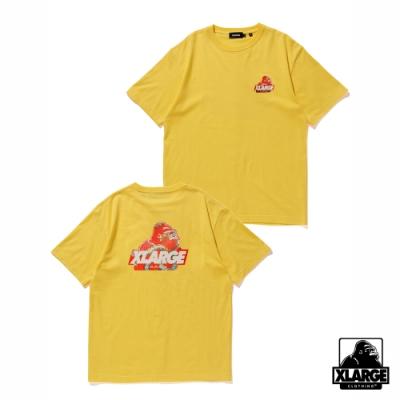 XLARGE S/S TEE JAPONISM OLD OG 2020日本限定浮世繪短袖T恤-黃