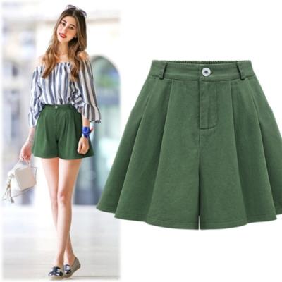【韓國K.W.】(現貨)浪漫玲瓏有致裙褲-1色