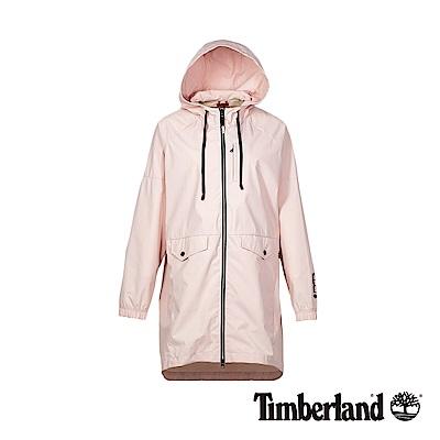 Timberland 女款墨粉色防紫外線防潑水雨衣|B3108