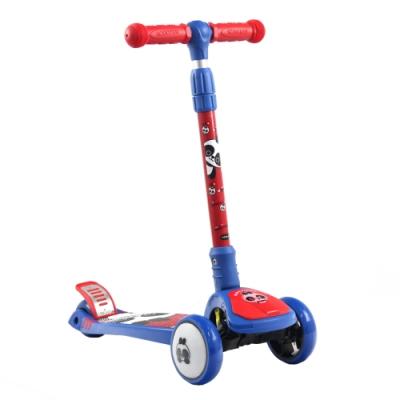 熊貓PANDA 炫光靜音輪折疊滑板車(三輪) -兩色可選