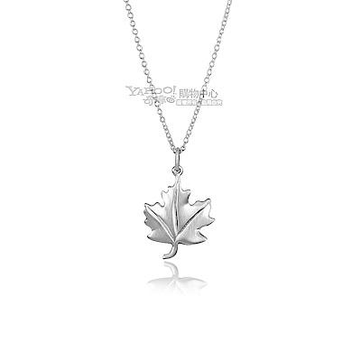 TIFFANY&Co. 楓葉925純銀項鍊