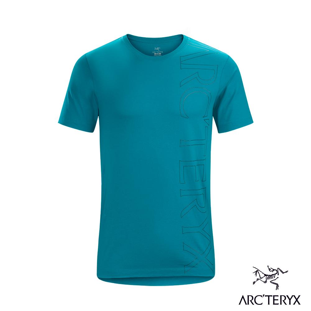 Arcteryx 始祖鳥 24系列 男 Macro 有機棉 短袖休閒Tee 深冰河綠 @ Y!購物