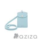 aziza 直式證件套 水藍
