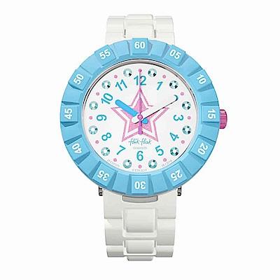 FlikFlak 兒童錶 ROSE ETOIL?E 粉紅星星手錶