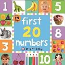 First 20 Numbers 請從1數到20硬頁翻翻操作書(英國版)