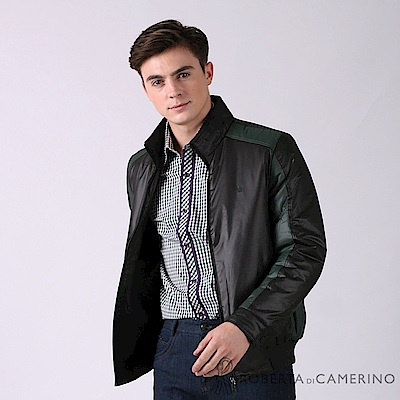ROBERTA諾貝達 禦寒極品 時尚厚舖棉夾克外套ROE76-99黑色
