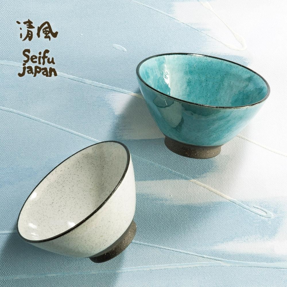 有種創意 日本美濃燒-清風時雨茶碗組(2件式)