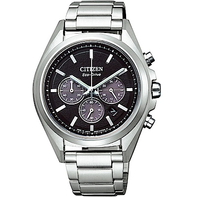 CITIZEN星辰 光動能超級鈦計時手錶(CA4390-55E)