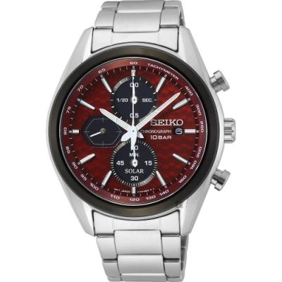 SEIKO 精工 CS 喬治亞羅設計 計時手錶(SSC771P1/V176-0BH0R)-41mm