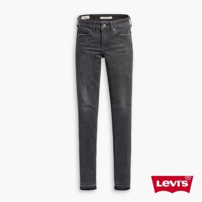 Levis 女款 711 中腰緊身窄管牛仔褲 保暖纖維 內刷毛 彈性布料