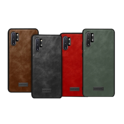SULADA SAMSUNG Galaxy Note 10+ 皮紋保護套