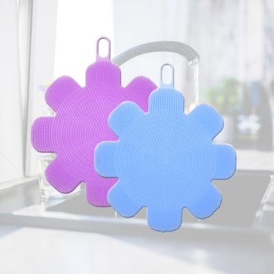 多魔潔 2入魔法矽膠起泡王萬用刷附多功能耐高溫隔熱墊