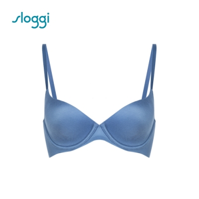 sloggi Zero 系列 均薄罩杯內衣 C罩杯 迷霧藍 Y16-6973XX