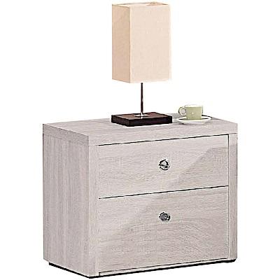 綠活居 芬尼時尚1.7尺床頭櫃/收納櫃-52x39.5x48cm免組