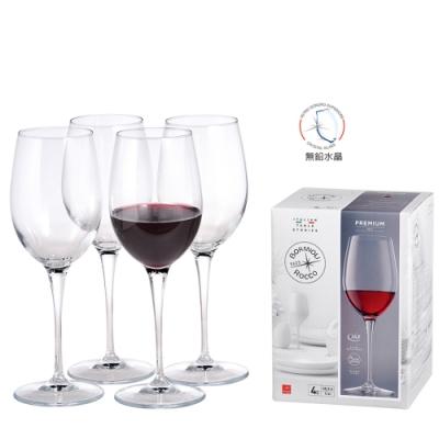義大利Bormioli Rocco Premium Chianti Classico紅酒杯-4入禮盒組
