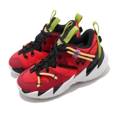 Nike 籃球鞋 Why Not Zero.3 SE 童鞋 喬丹 避震 包覆 明星款 運動 中童 紅 黑 CN8108600
