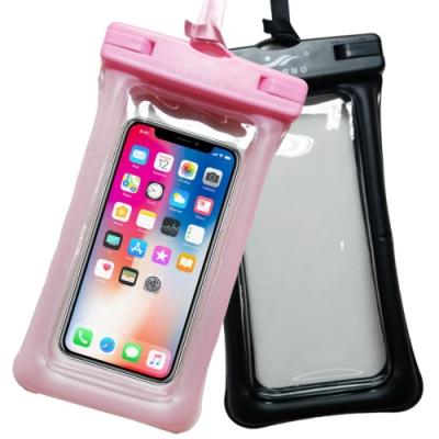 YONGBO 手機防水袋 IPX8 漂浮氣囊 卡扣密封夾 (2入組)