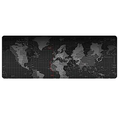 E-dot 加大加厚防滑世界地圖多功能滑鼠桌墊(80x30cm)