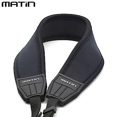 韓國製造Matin馬田單眼相機背帶單反相機減壓揹帶M-6780(黑色,彎形,寬版)