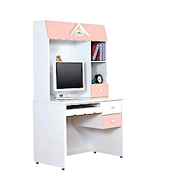D&T德泰傢俱夢幻城堡電腦桌-90x60x166cm