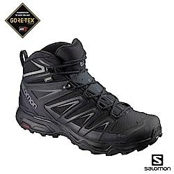 Salomon 登山鞋 中筒 GORETEX防水 男 X ULTRA 3寬楦