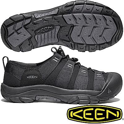KEEN 1020872 黑 Riverport 男水陸兩用護趾鞋 溯溪鞋