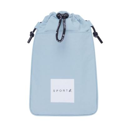 Agnes b. - Sport b. 束口斜背小包(中性)(藍)